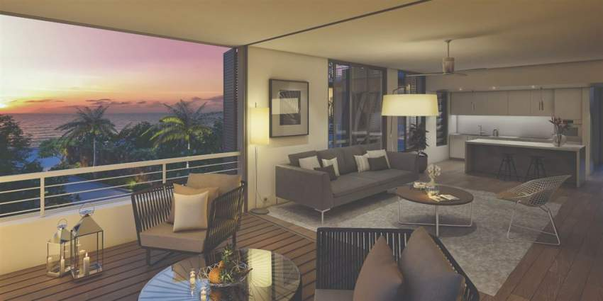(Ref. MA7-006) Appartement contemporain et tropical à Tamarin