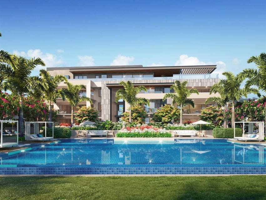 (Ref. MA7-198) Appartement style contemporain avec vue sur le golf