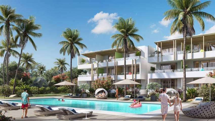 (Ref. MA7-325) Appartement proche de la plage de Bain Bœuf