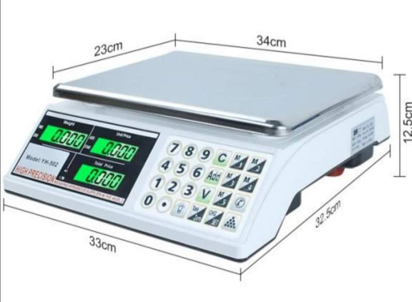 Electronic Scale 30kg x 5g