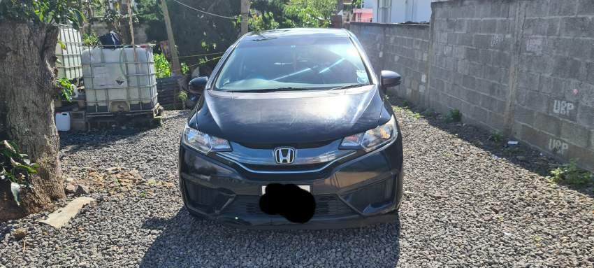 Honda fit new model black
