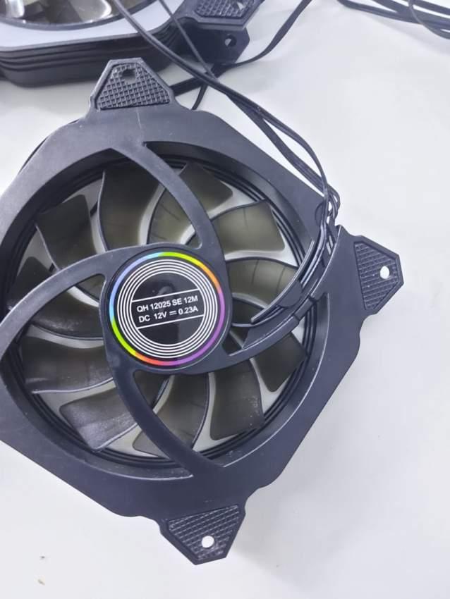 Cpu heat sink cooler master & 4 cooling fan rgb
