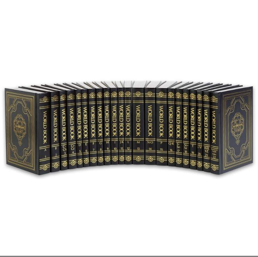 World Book encyclopaedia Classic edition 2015