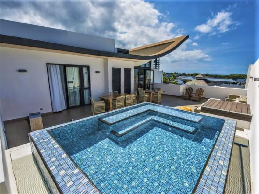 (Ref. MA7-577) Grand et rare penthouse avec vue sur le sublime lagon
