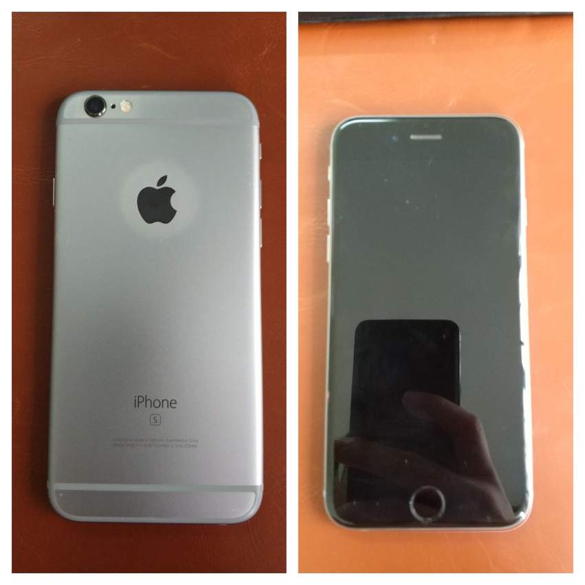 iPhone 6s 64G Gray Unlocked Condition 9/10 - Rs 11 000