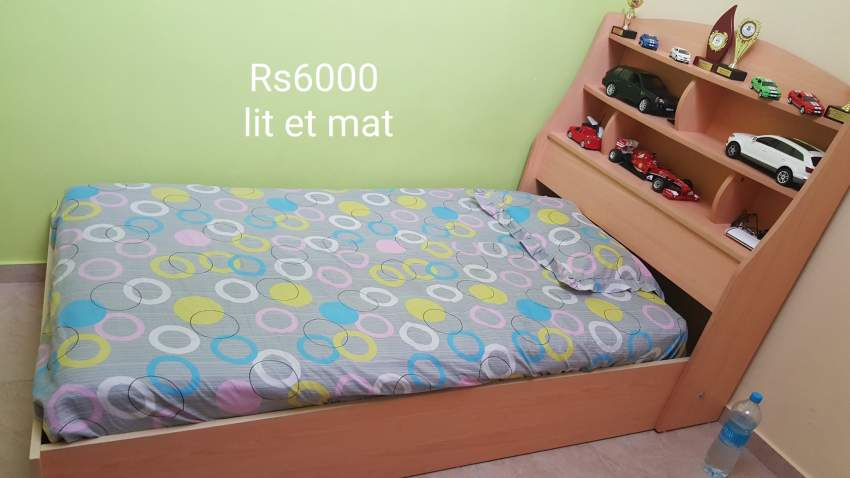 Lit et mat  - Bedroom Furnitures at AsterVender