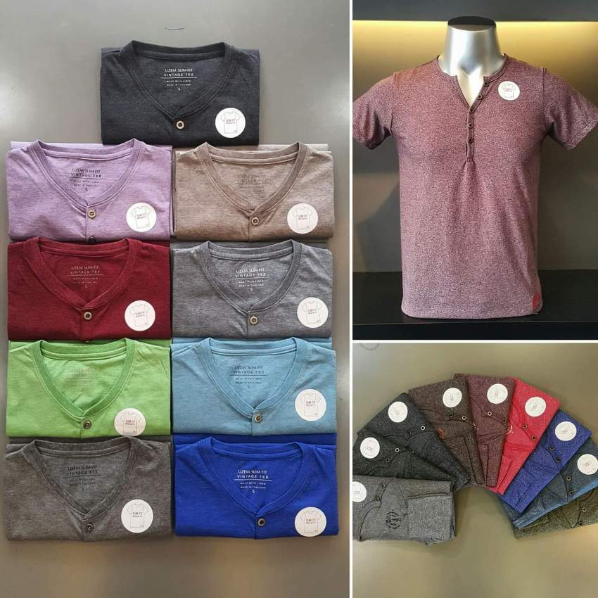 Slim fit t-shirt - Shirts (Men) at AsterVender
