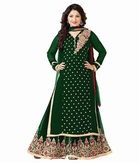 Dressy suit Georgette fabric  - Dresses (Women) at AsterVender
