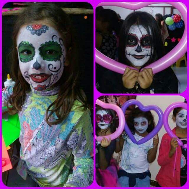 Face painting and balloon twisting  - Entertainment at AsterVender