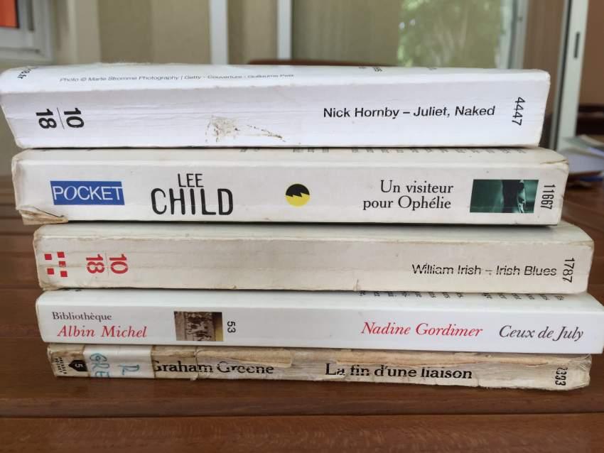 Livres - littérature anglaise et américaine