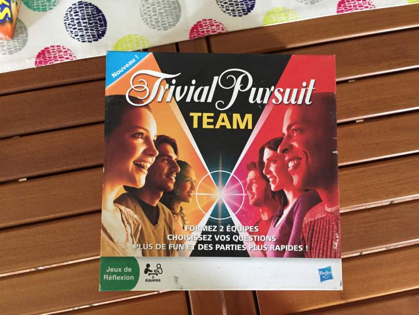 Trivial Pursuit Team - Board Games at AsterVender