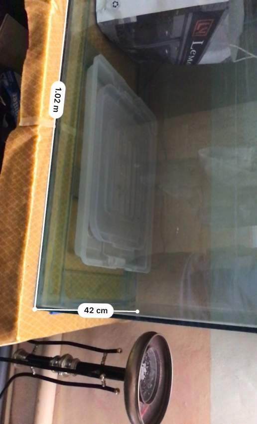 For sale Aquarium 3x2.5x3 pieds -  Aquarium fish at AsterVender