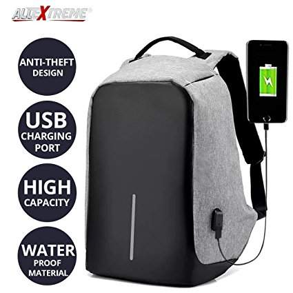 Anti theft bag with usb charging - Bags at AsterVender