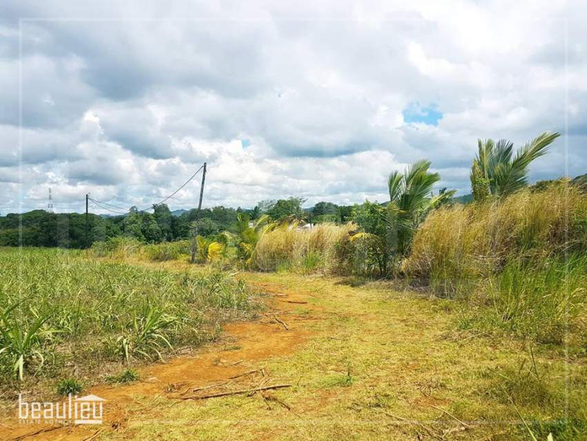 *Residential land of 25 perches,  Pont Praslin,Mare D'Austra