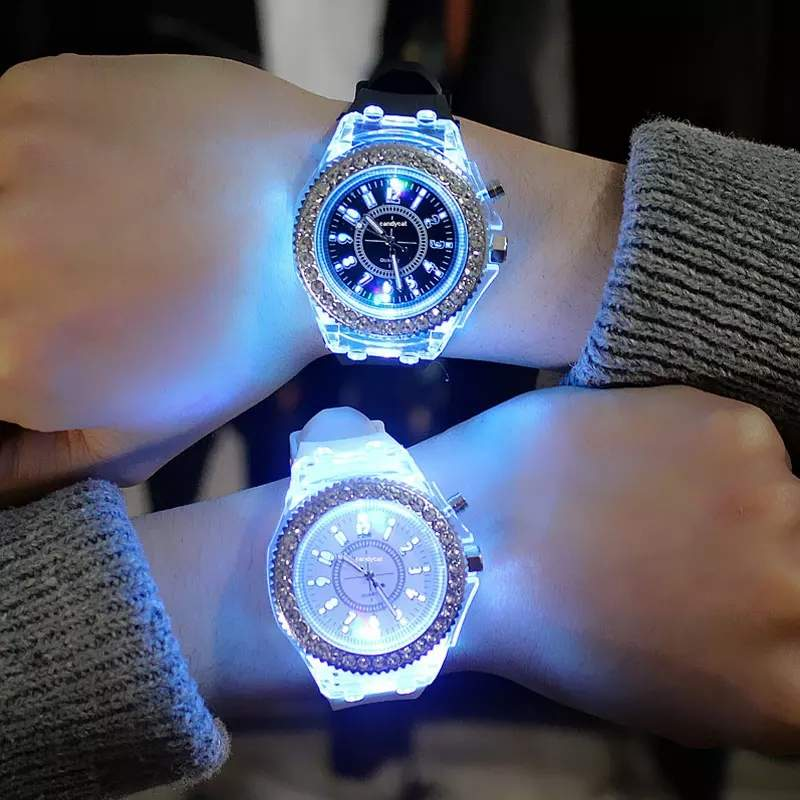 Led flash luminous watch - Watches at AsterVender
