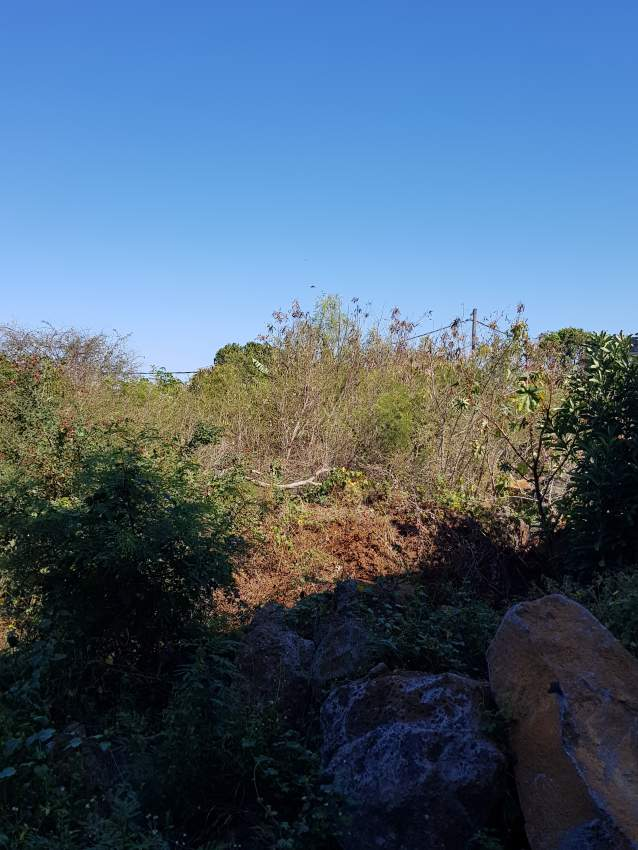 50 perches of land situated at Trou aux Biches. 2min to the beach.
