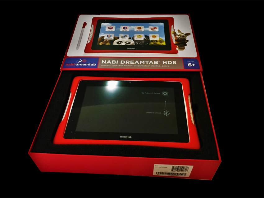 NABI DREAMTAB HD8 avec option Parent Control