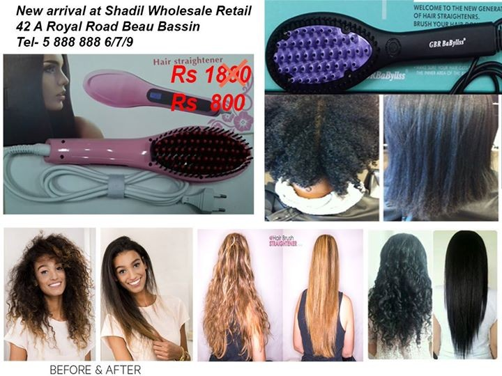 Hair brush straightener - Other Hair Care Products at AsterVender