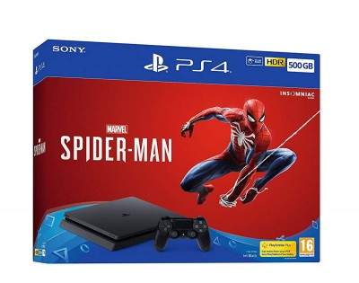 Sony PlayStation w/ Spiderman