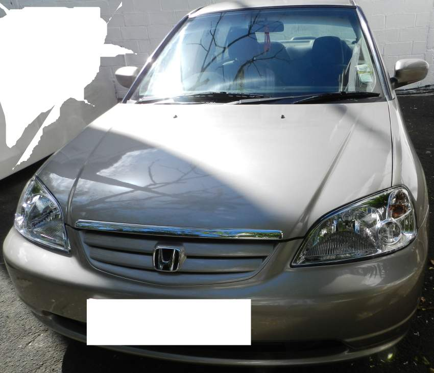 Honda ES8 (Automatic with Private Number)