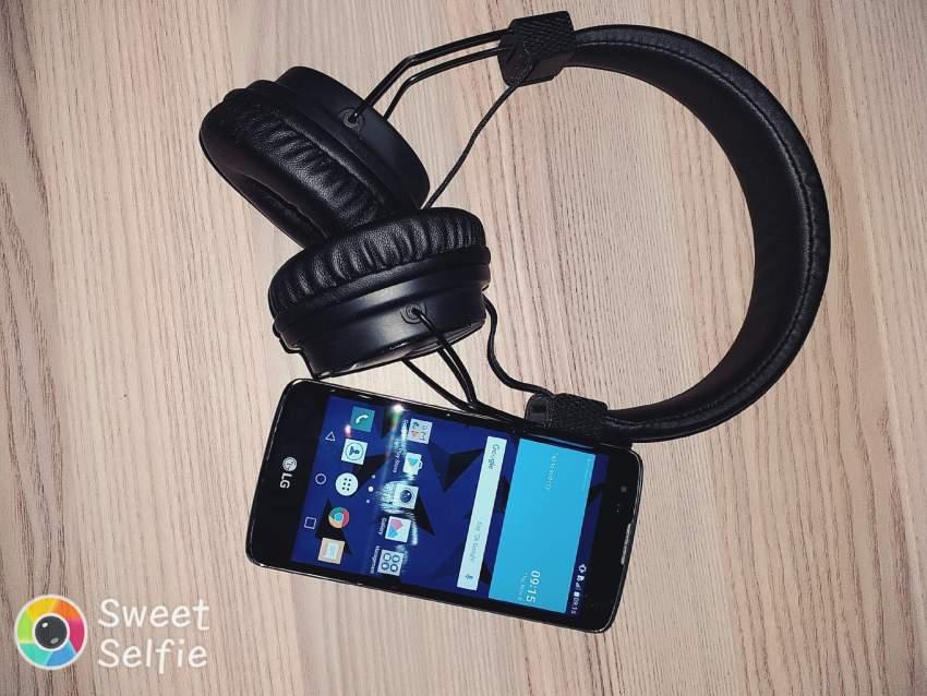 Lg k8 + headset