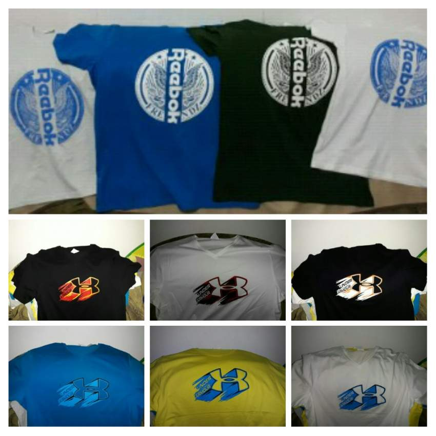 T-shirts Reebok & Under Armour