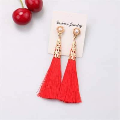Tassel Earrings - Earrings at AsterVender