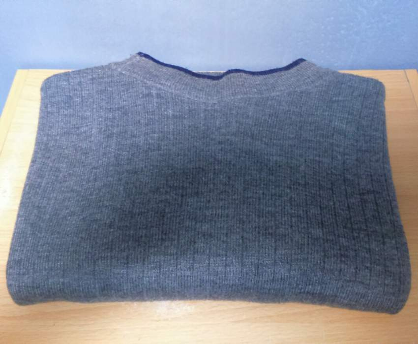 Grey cashmere-wool pullover - Sweater (Men) at AsterVender