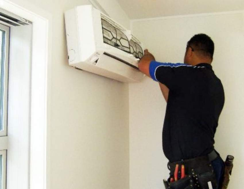 Installation and servicing of aircon