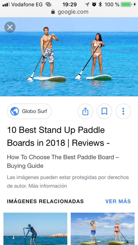 Looking for a standing paddle