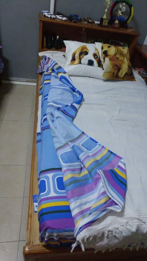 Bedroom set: wardrobe + single bed