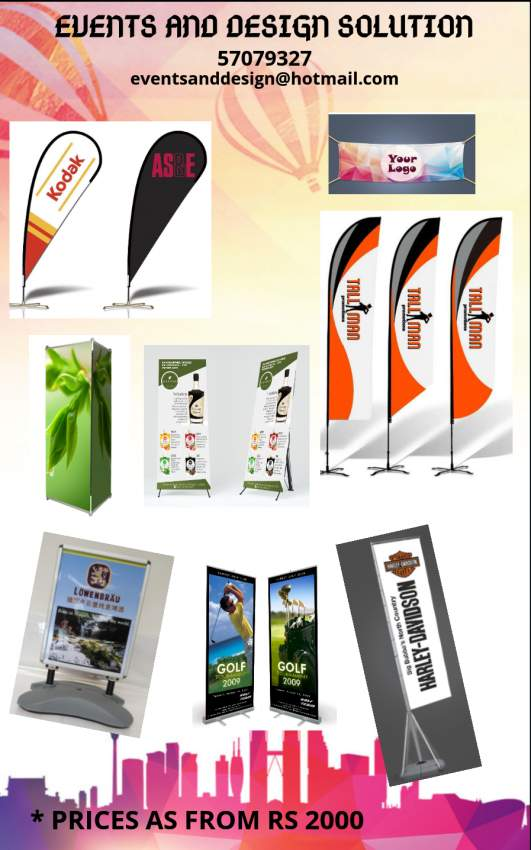 Outdoor and indoor banner