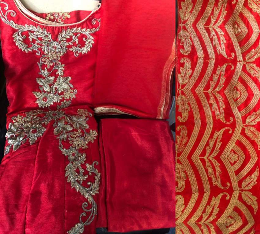 Suits saree for women and kids