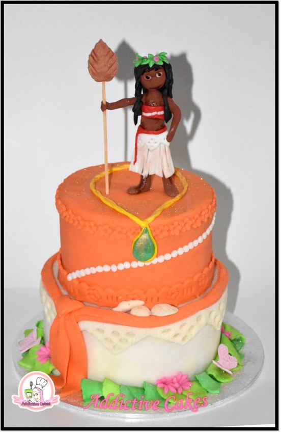 Special themed birthday cakes - MOANA - Catering & Restaurant at AsterVender