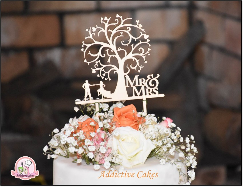 Special wedding cake design available on order - Catering & Restaurant at AsterVender