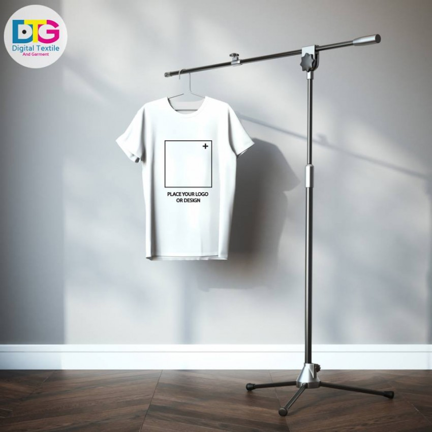 Place your logo or design logo printing on t shirt and for T shirt printing place