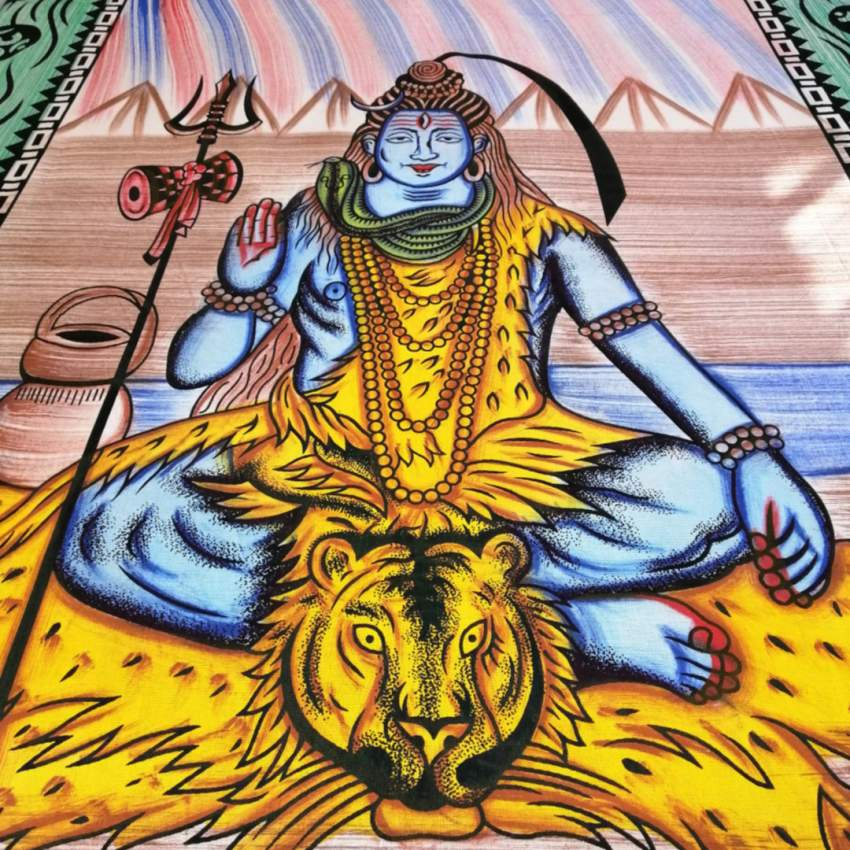 Shivadelic Tapestry