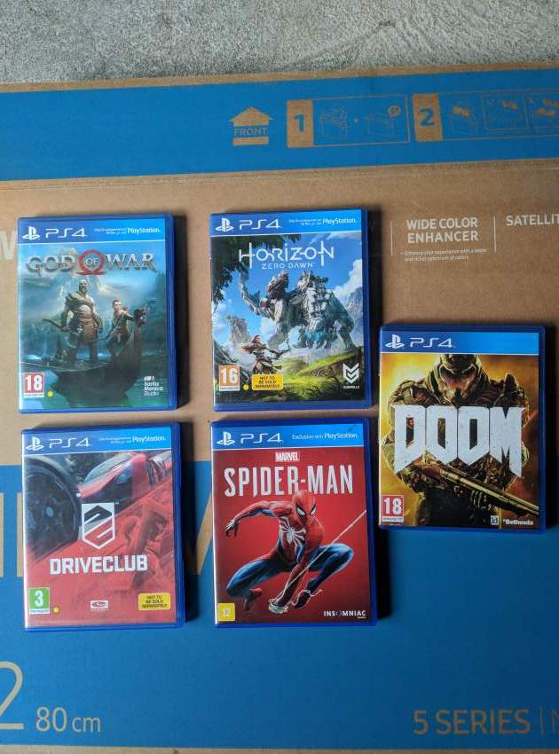 5 PS4 games  - PS4, PC, Xbox, PSP Games at AsterVender