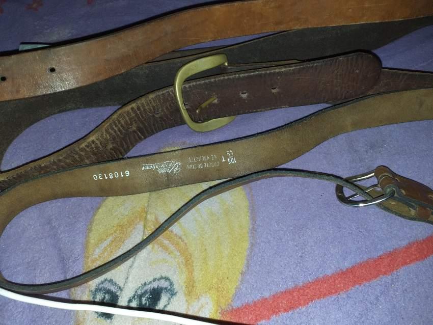 1 ceinture en cuir de France avec references