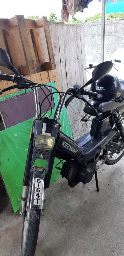 Keeway motorcycle