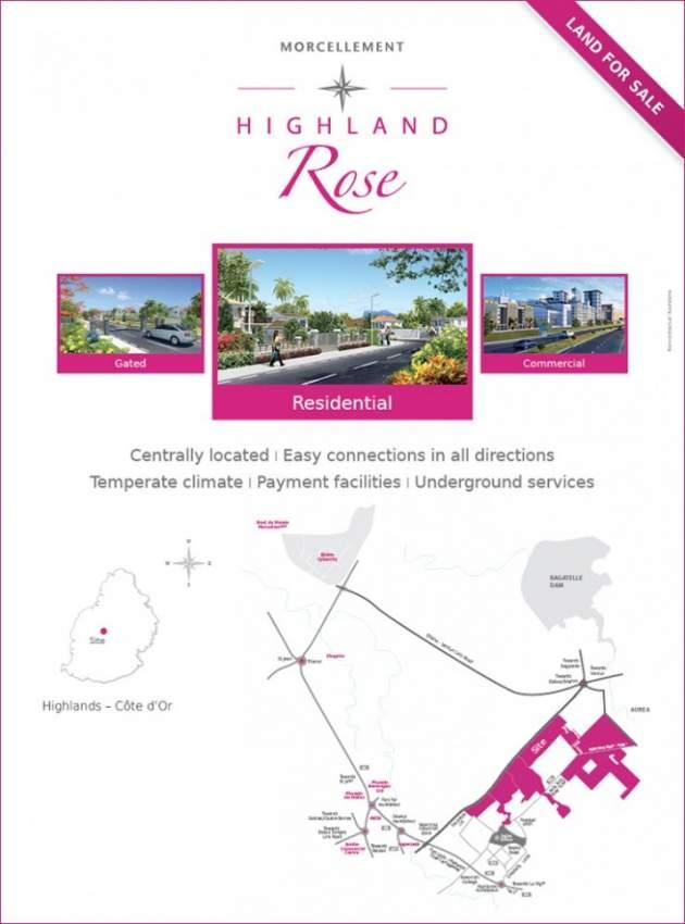 Highland Rose Residential Plot