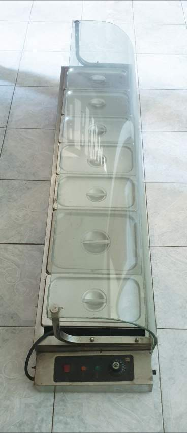 Bain Marie 7 Containers