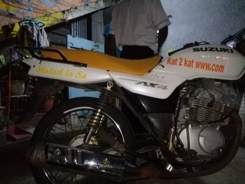Suzuki  ax4 110cc