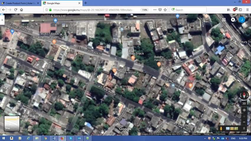 land at Port Louis