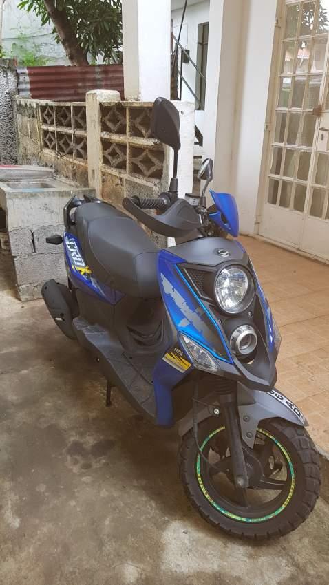 Scooter 125cc année 2018