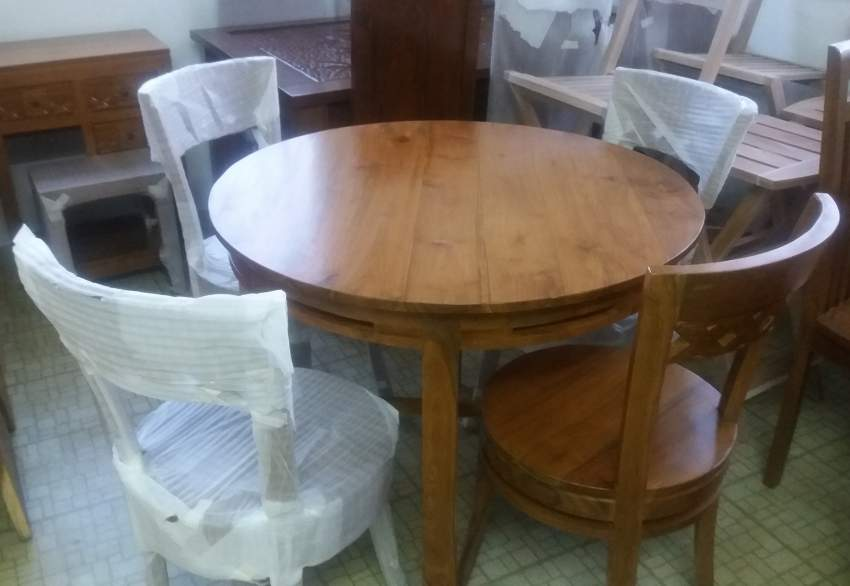 Cowboy Dining Set - Table & chair sets at AsterVender