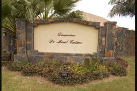 Nice land in well sort after residential gated developement in Tamarin