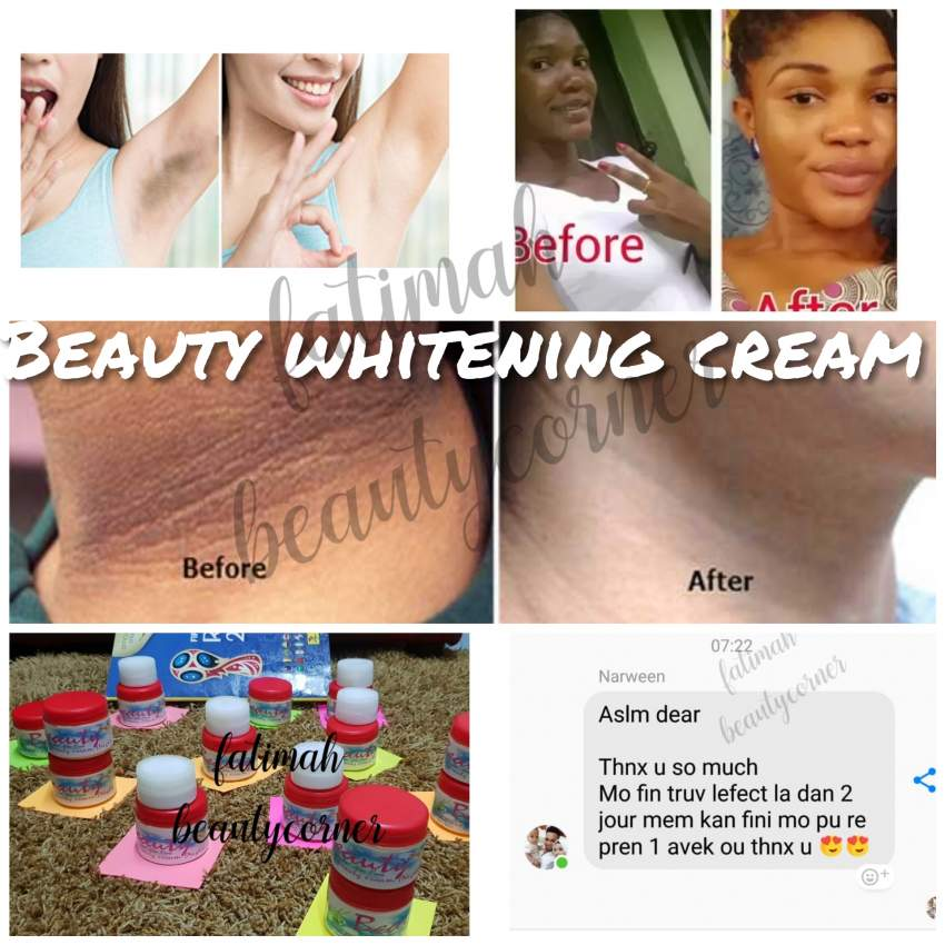 Beauty whitening cream