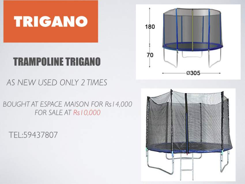 TRAMPOLINE TRIGANO