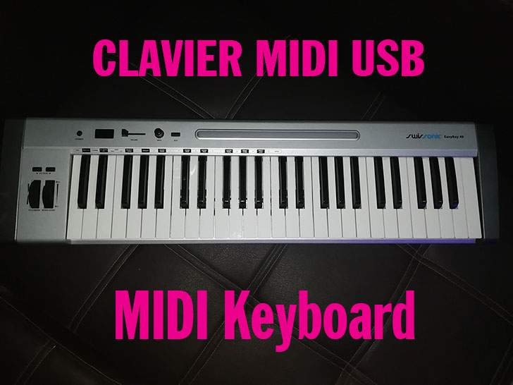 Clavier maître MIDI USB